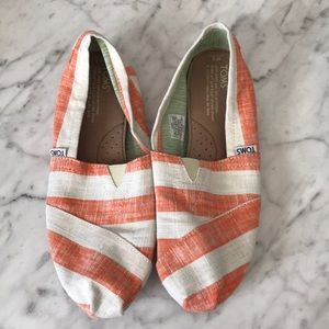 Toms shoes.